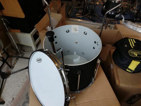 TAMBURO Schlagzeug UNIKA Serie 5 teiliges Set in Flamed Black