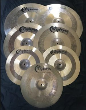 BOSPHORUS ANTIQUE Cymbal Set 20 / 16 / 14 + Cymbalbag