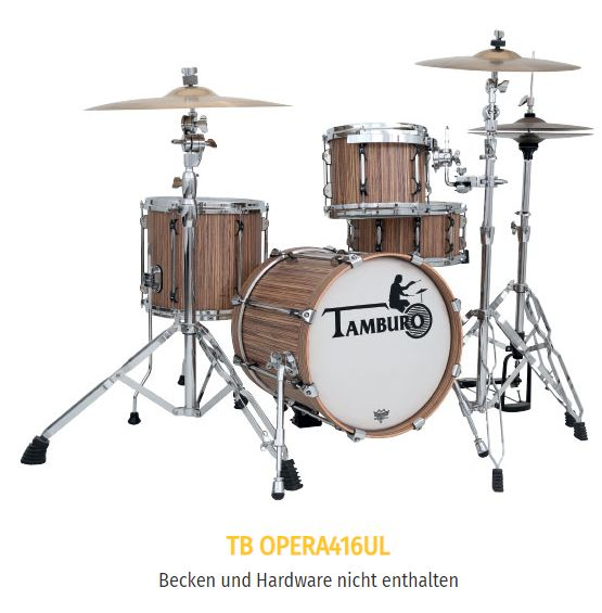 TAMBURO Schlagzeug OPERA 416UL in OLIVE