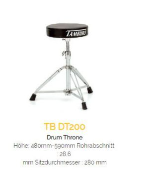 TAMBURO Drum Hocker DT200