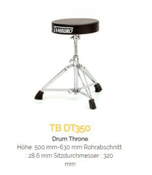 TAMBURO Drum Hocker DT350