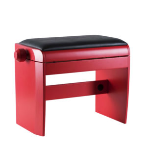 DEXIBELL Klavier Bank - rot poliert