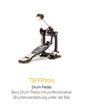 TAMBURO Drum Pedal FP200 mit Kettenzug