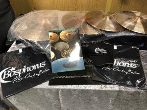 BOSPHORUS NEW ORLEANS Cymbal Set 20 / 16 / 14 + Cymbalbag