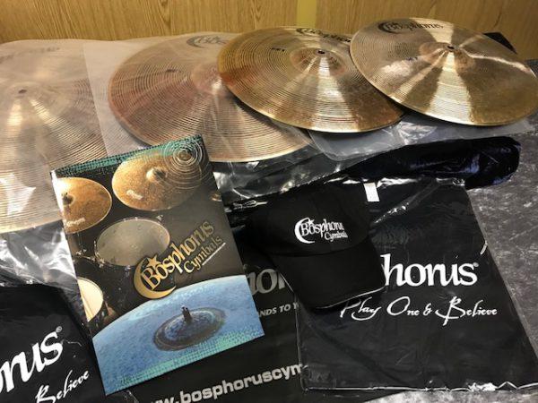 BOSPHORUS NEW ORLEANS Cymbal Set 20 / 16 / 14 + Cymbalbag