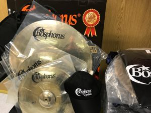 BOSPHORUS GOLD Cymbal Set 20 / 16 / 14 + Cymbalbag