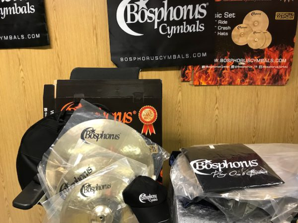 BOSPHORUS GOLD Cymbal Set 20 / 16 / 14 + Cymbalbag