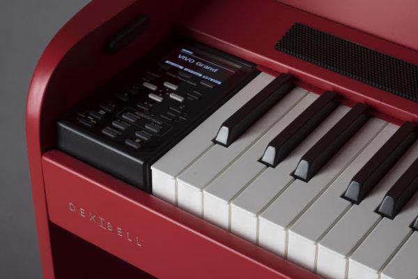 DEXIBELL VIVO H7 Digitalpiano - rot