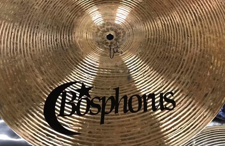 BOSPHORUS Cymbals, Lieferung eingetroffen!