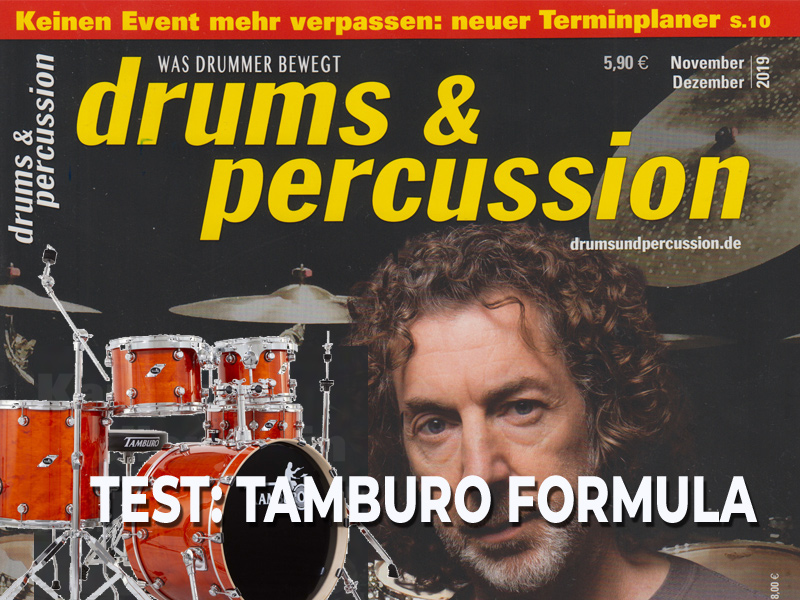 drums & percussion Test: TAMBURO FORMULA