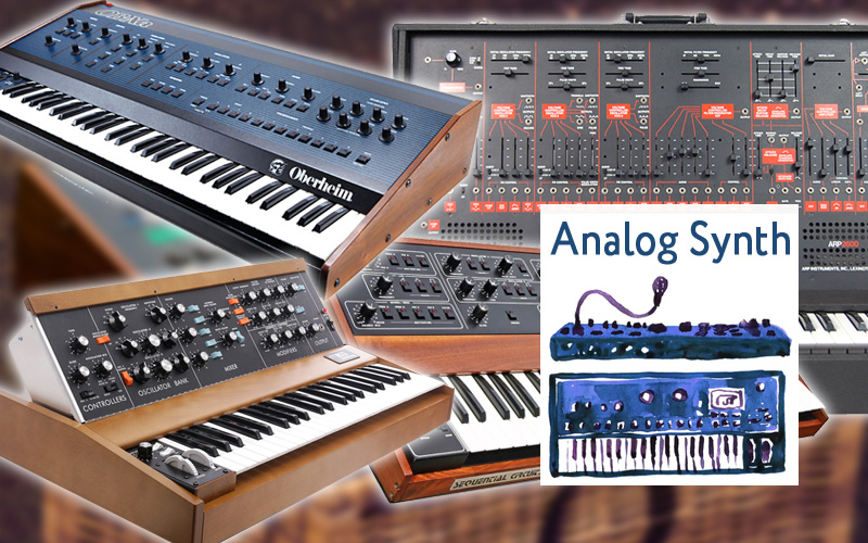 Analog Synth – DEXIBELL Sound Library
