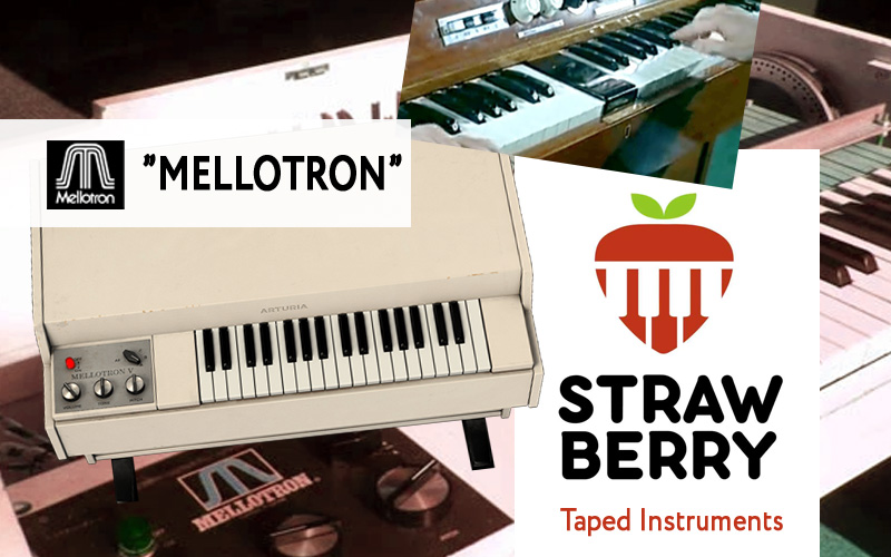 """Taped Instruments """"Mellotron"""" – DEXIBELL Sound Library"""