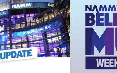 """NAMM 2021 """"Believe in Music Week"""" 18. bis 22. Jänner 2021"""